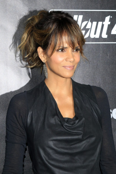 Halle Berry at the Fallout 4 video game launch 2015