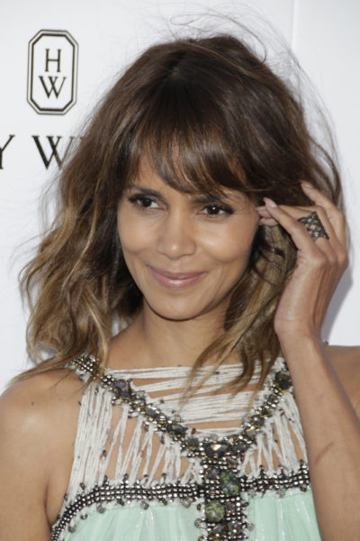 Halle Berry with bob cut hairstyle at the 3rd Annual Mattel Children's Hospital Kaleidoscope Ball 2015.