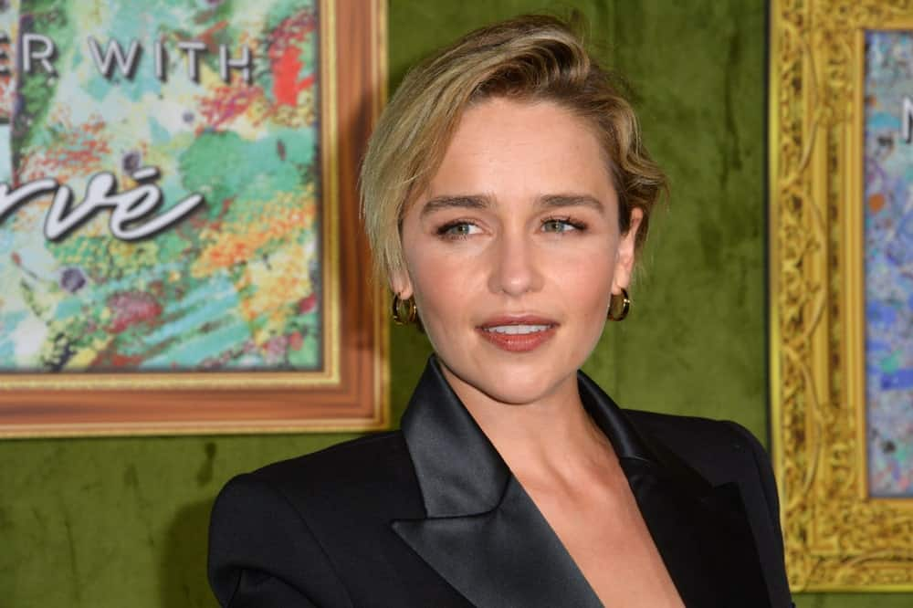 Emilia Clarke at the Los Angeles premiere for