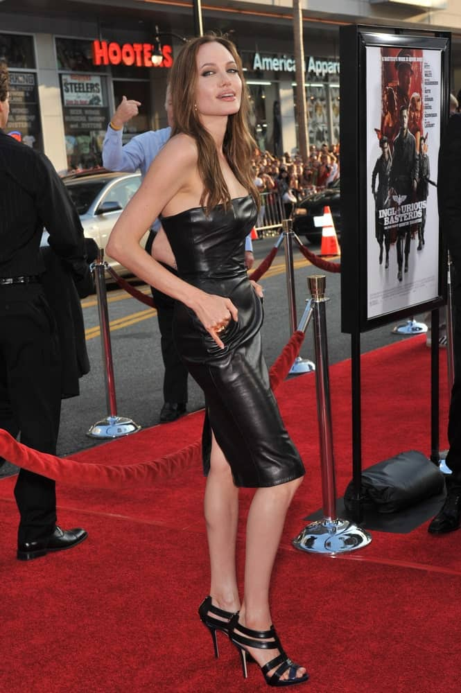 Angelina Jolie was at the Los Angeles premiere of