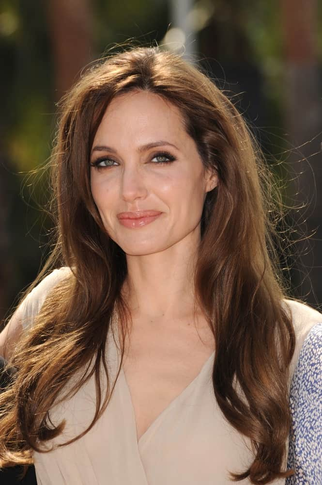 Angelina Jolie was at photocall for her new animated movie