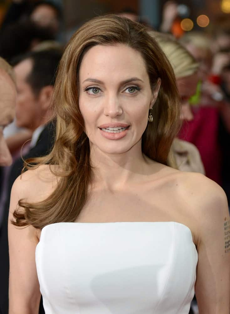 Angelina Jolie was at the