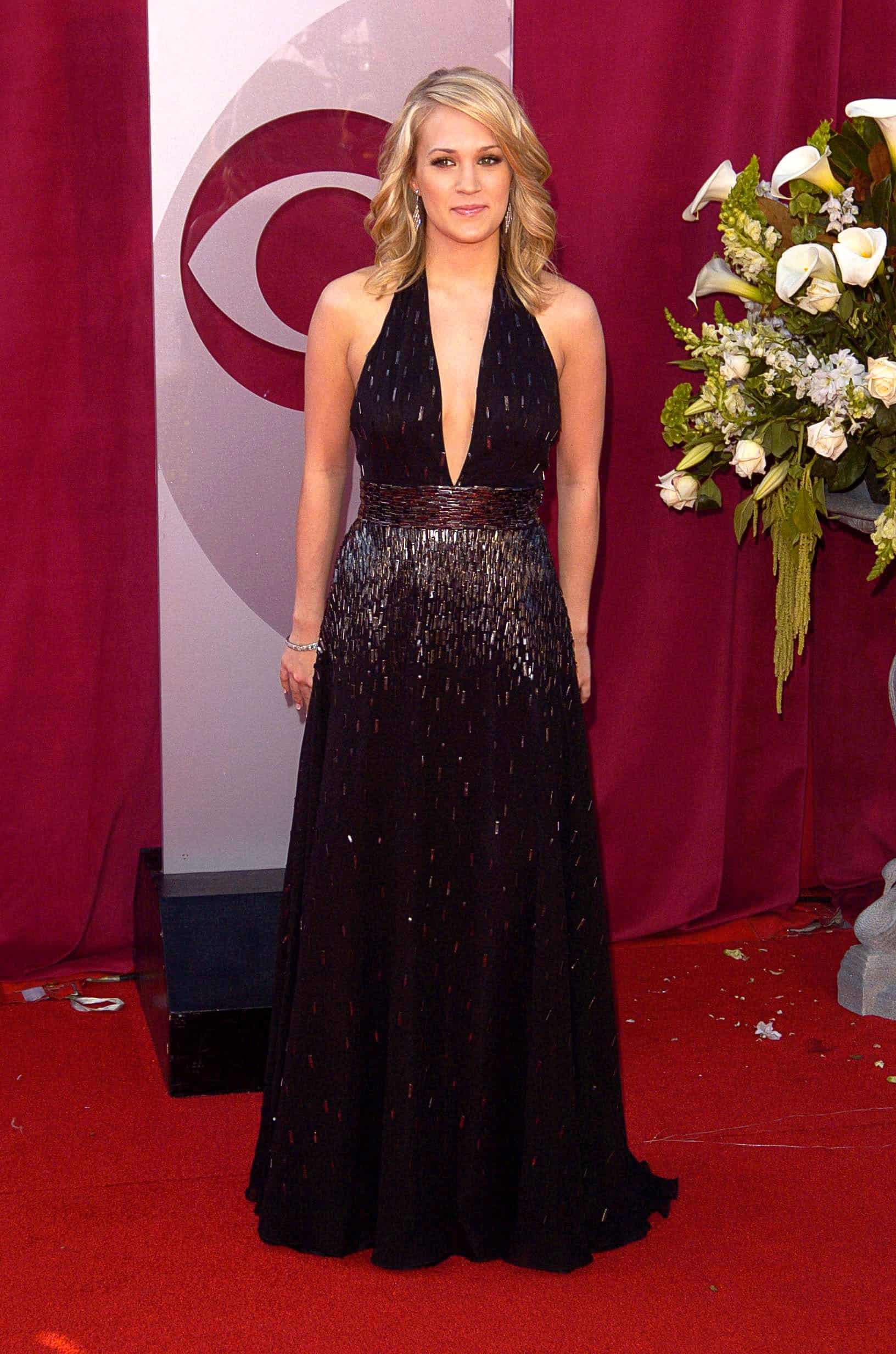Brittany Snow attended the PETA 25th Anniversary Gala and Awards, Paramount Pictures Studios in Los Angeles, CA on September 10, 2005. She paired her simple black dress with a curly blonde low ponytail hairstyle that has loose bangs.