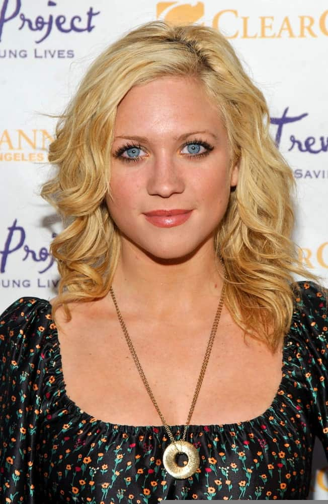 Brittany Snow was at The Trevor Project's