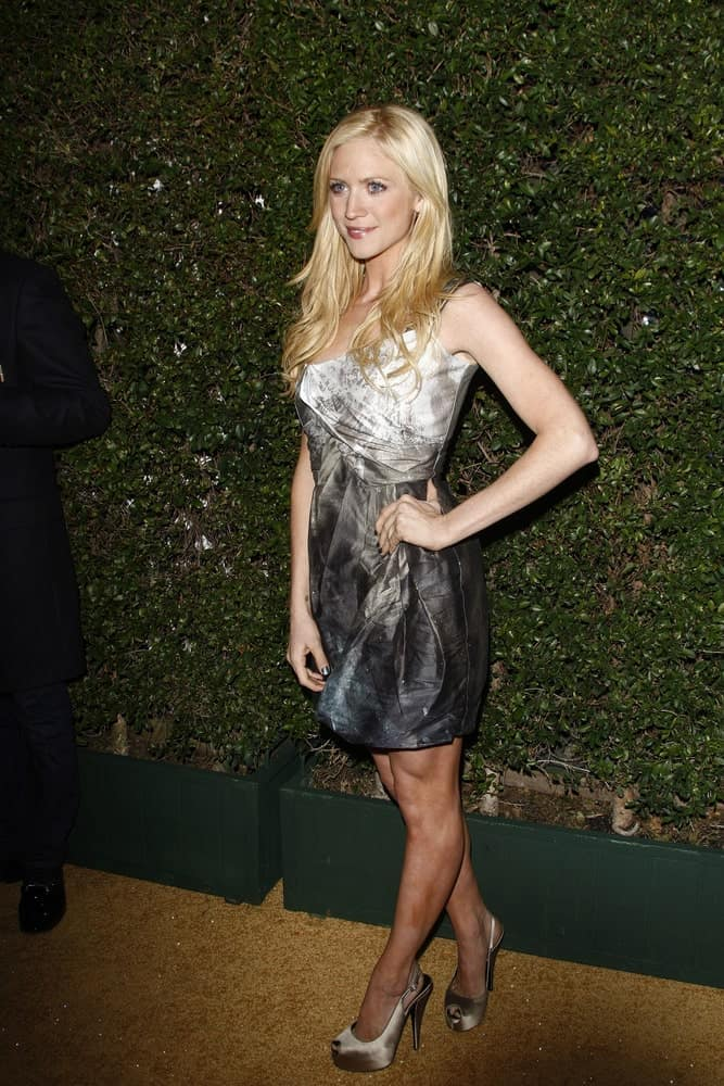 Brittany Snow attended the Covergirl 50th Anniversary Celebration at BOA Steakhouse held on January 5, 2011 in West Hollywood, California. She was stunning in a lovely dress that she paired with her long and layered blonde hairstyle with a slight tousle.