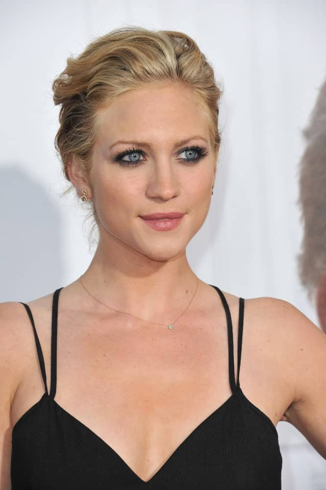 Brittany Snow was at the world premiere of