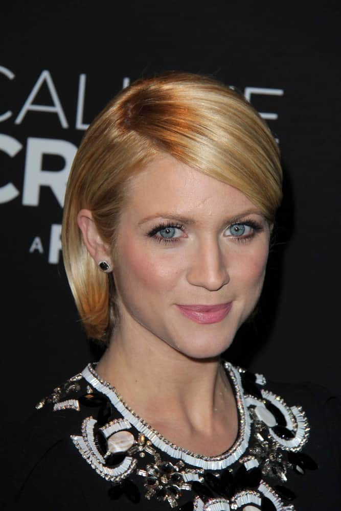 Brittany Snow was at the