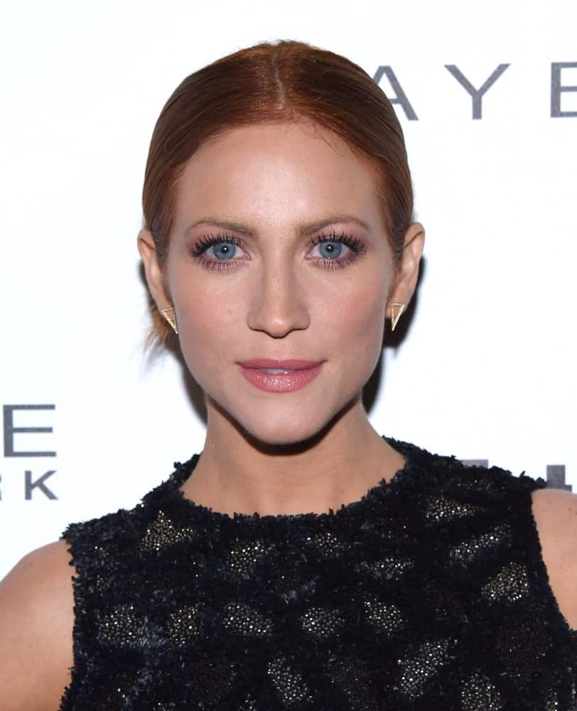 Brittany Snow attended the EW Magazine honors SAG Nominees on January 20, 2018 in West Hollywood, CA. She was seen wearing a lovely black dress to pair with her slick bun hairstyle.