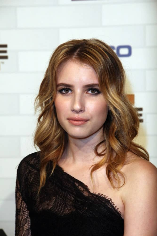 Emma Roberts attended the Spike TV's