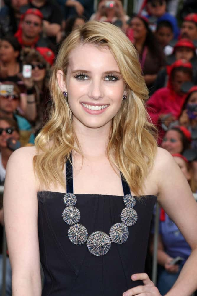 Emma Roberts attended the