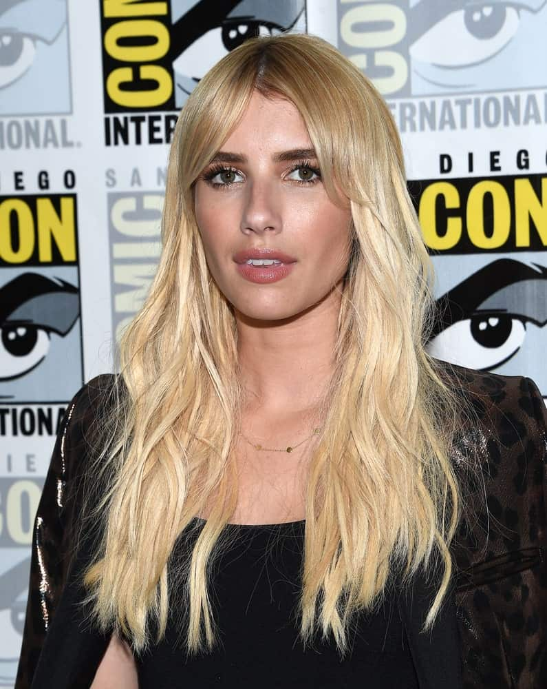 Emma Roberts attended the Comic Con 2016 for