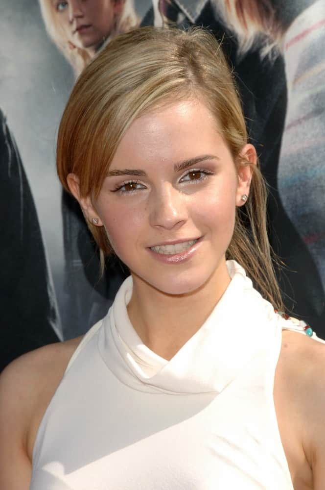 Emma Watson attended the
