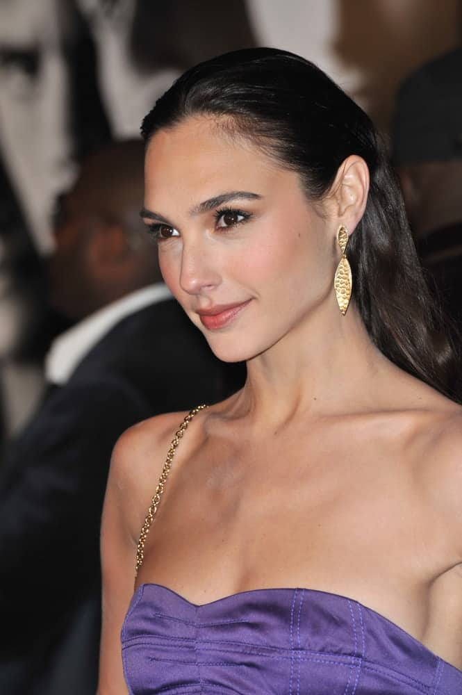 Gal Gadot was at the world premiere of her new movie