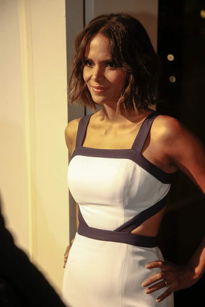 Actress Halle Berry attended