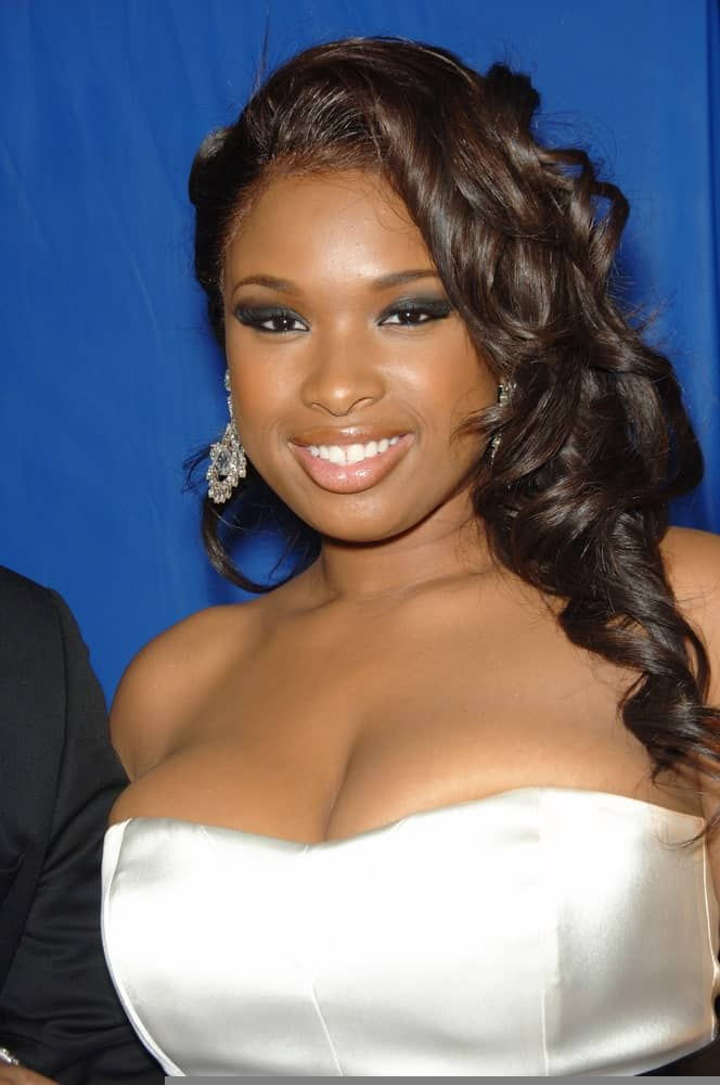 Jennifer Hudson was at the Los Angeles premiere of her new movie