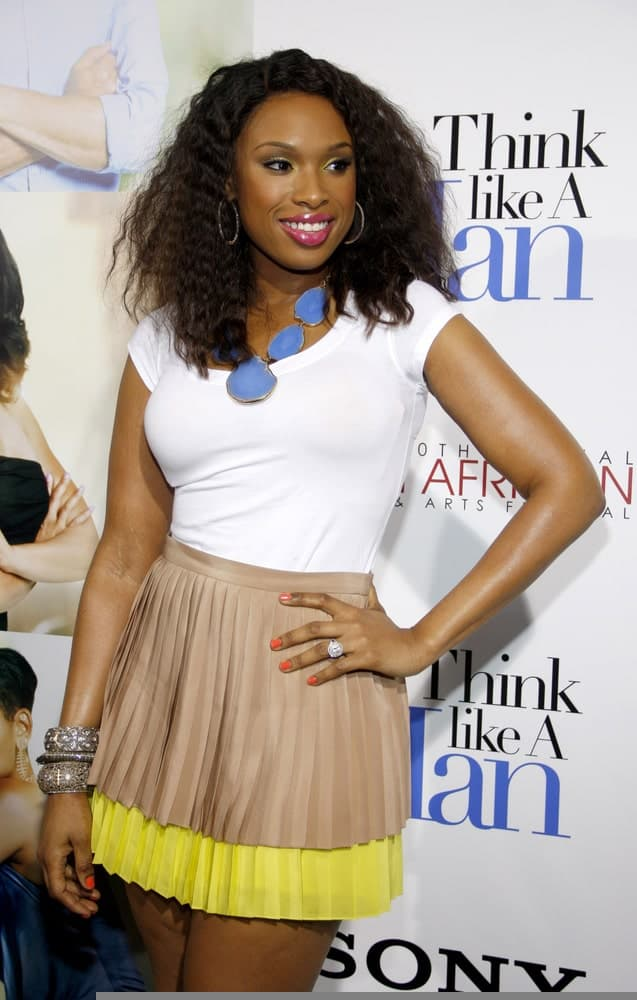 Jennifer Hudson was at the Los Angeles Premiere of