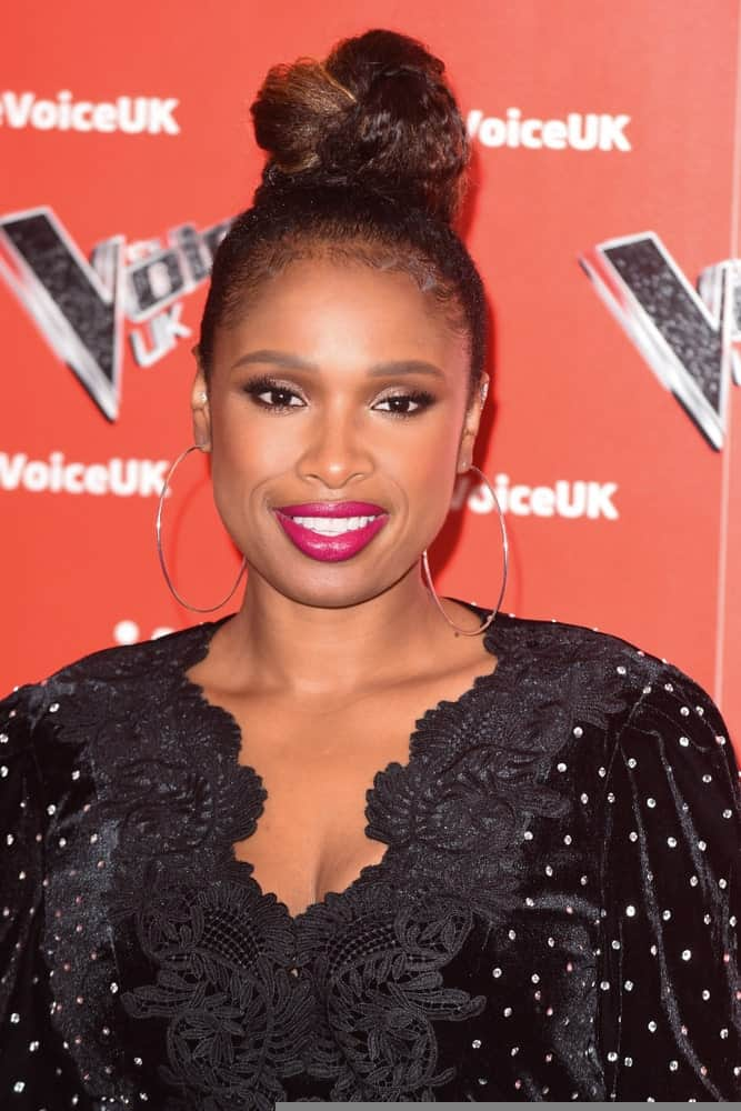 On January 03, 2019, Jennifer Hudson attended the launch photocall for the 2019 series of
