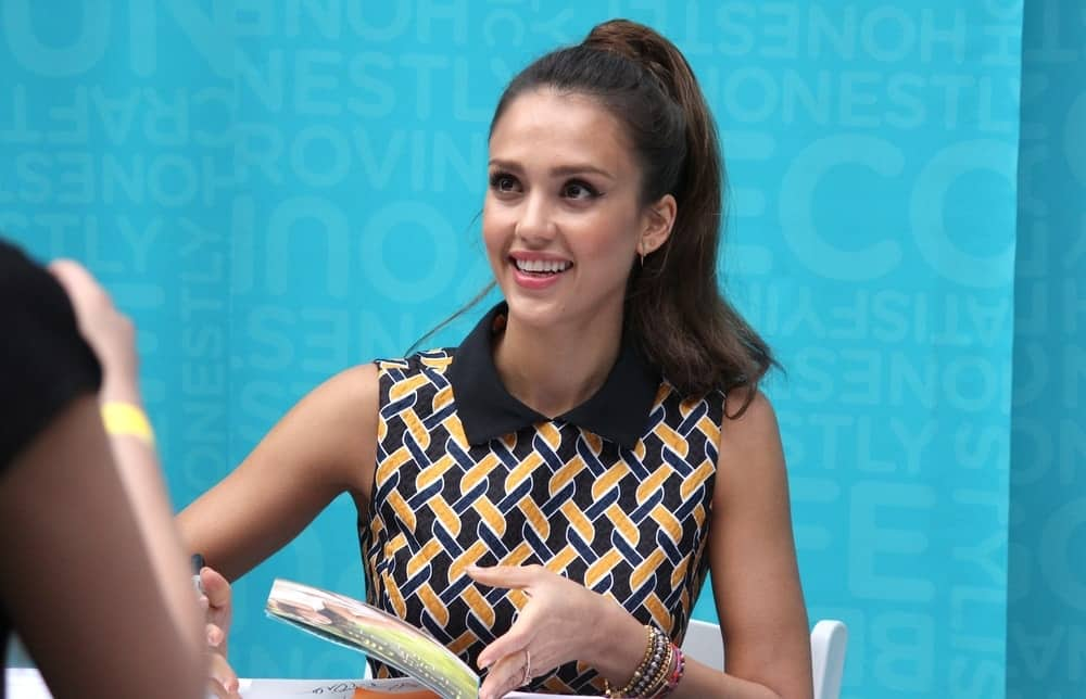 On May 17, 2013, Award-winning actress Jessica Alba signed copies of her book