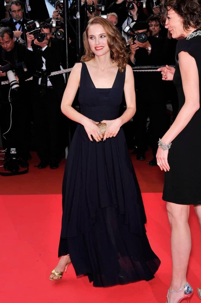 Natalie Portman was at world gala premiere of