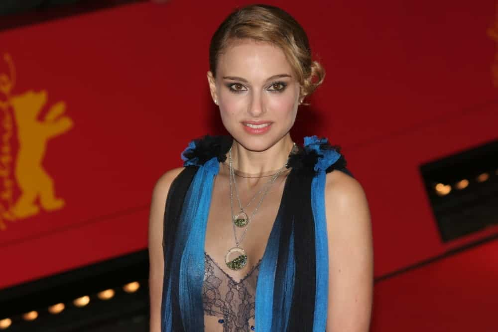Natalie Portman attended 'The Other Boleyn Girl' premiere during day nine of the 58th Berlinale Film Festival at the Berlinale Palast on February 15, 2008 in Berlin, Germany. She came in a stunning sheer dress that she paired with a vintage-looking bun hairstyle with long side-swept bangs.