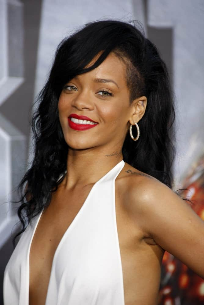 Rihanna was at the Los Angeles premiere of