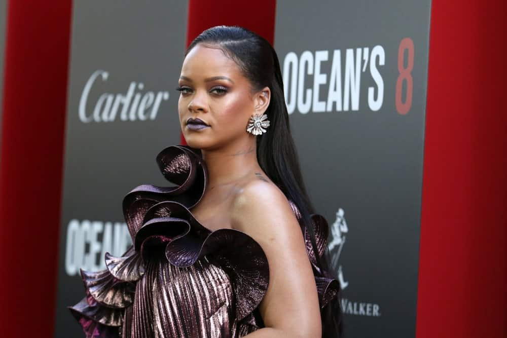 Rihanna attended the premiere of