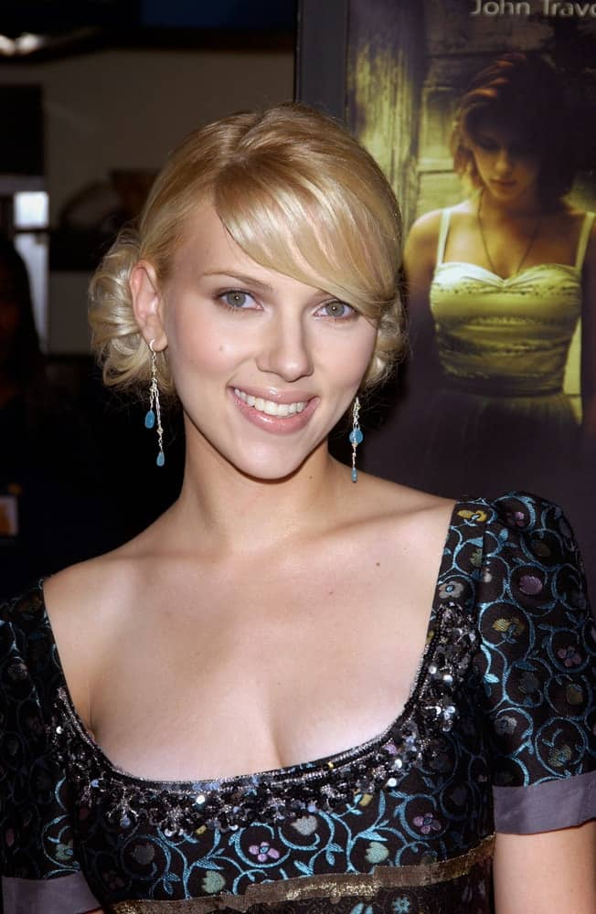 Actress Scarlett Johansson was at the Hollywood Film Festival premiere of her new movie