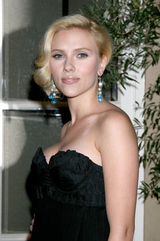 Scarlett Johansson attended the
