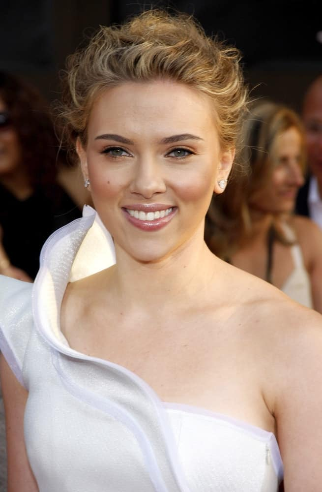 Scarlett Johansson attended the World Premiere of