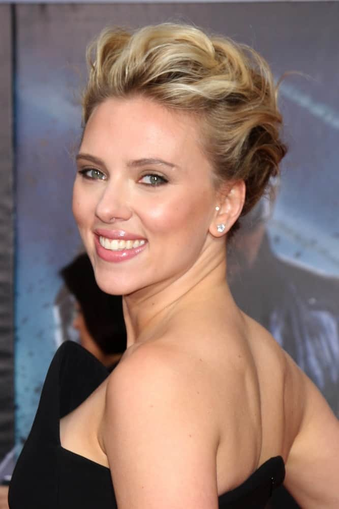 Scarlett Johansson attended the