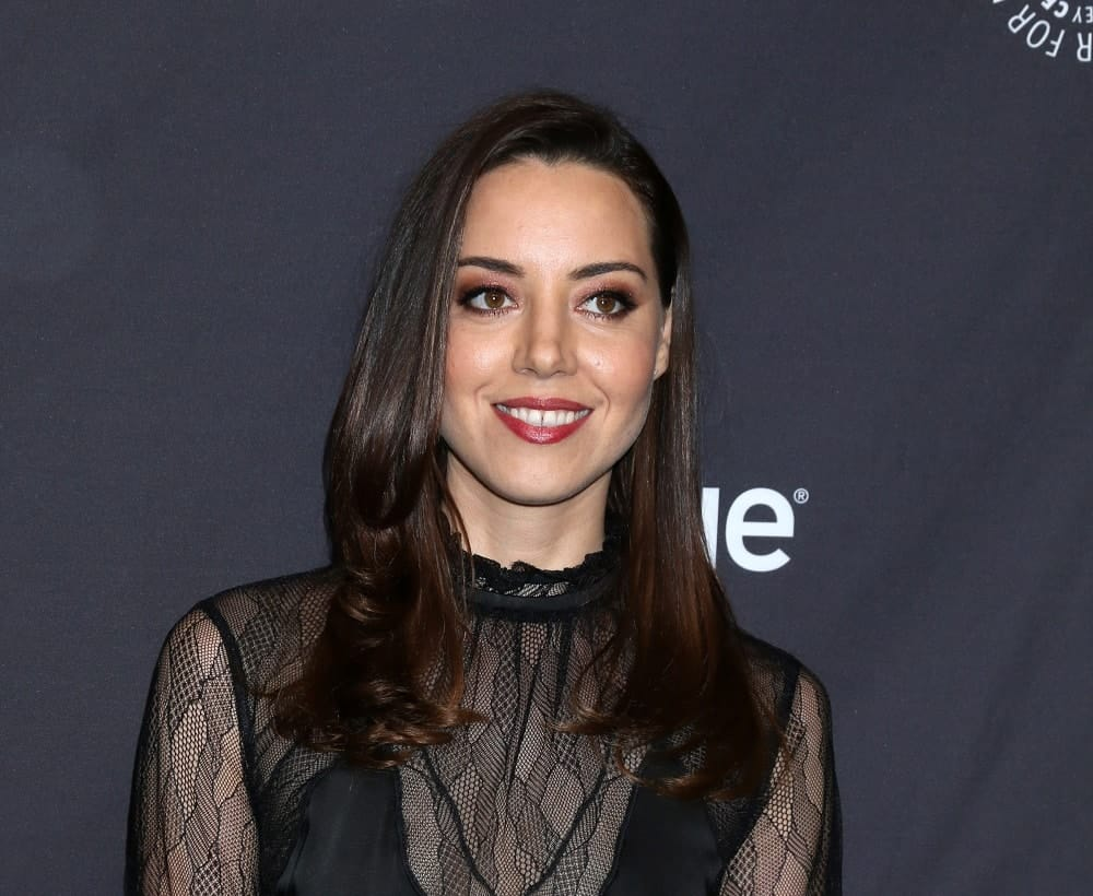 Aubrey Plaza S Hairstyles Over The Years