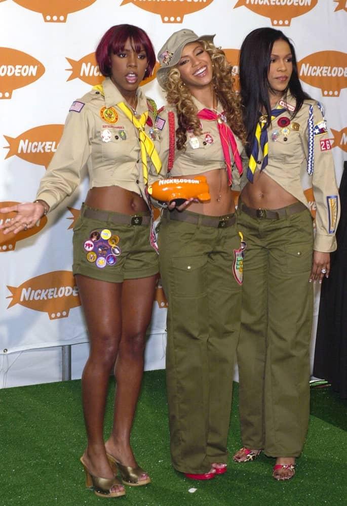 Destiny's Child received their award for
