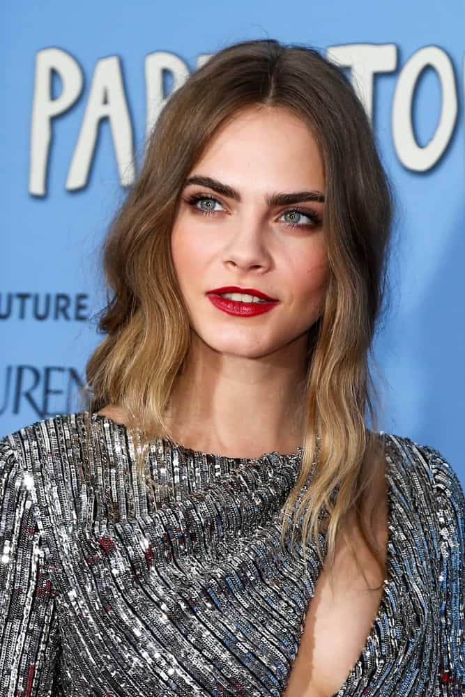 Model/actress Cara Delevingne attended the