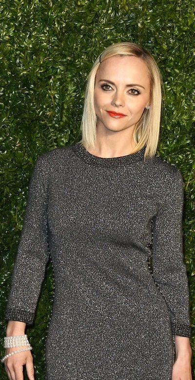 Actress Christina Ricci attended the 12th Annual Tribeca Film Festival Artists Dinner hosted by Chanel at Balthazar Restaurant on April 24, 2017 in New York City. She came in a gray dress that went well with her straight shoulder-length blonde hairstyle incorporated with a pin.