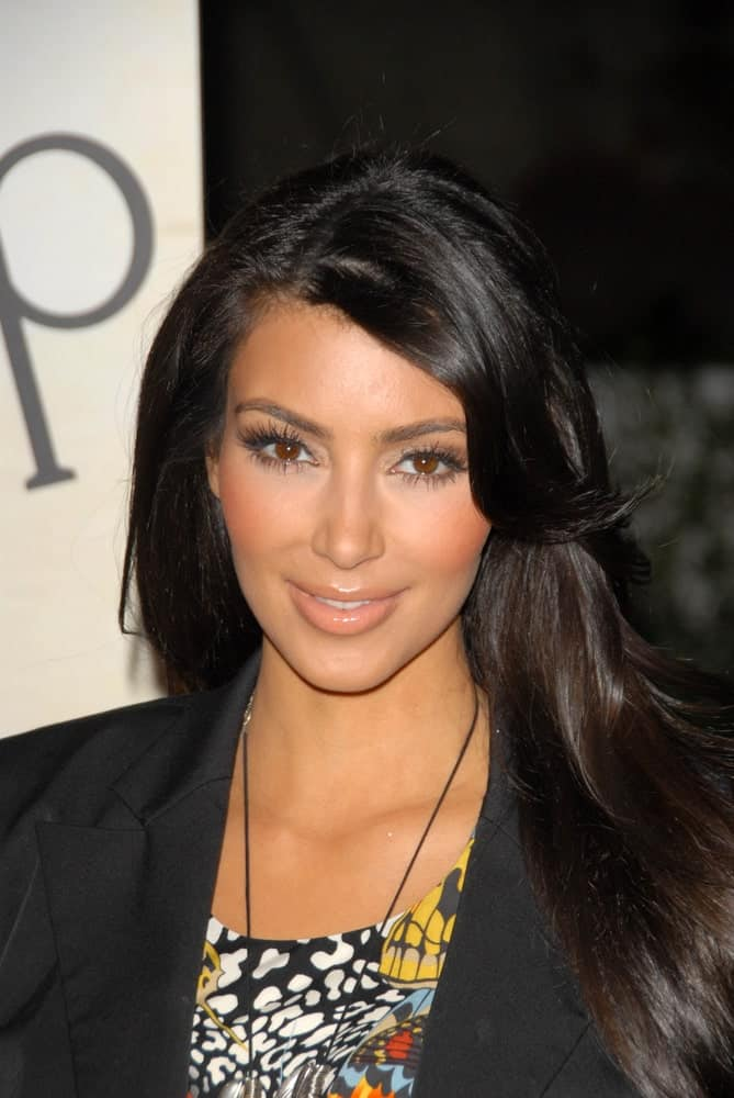 Kim Kardashian at the