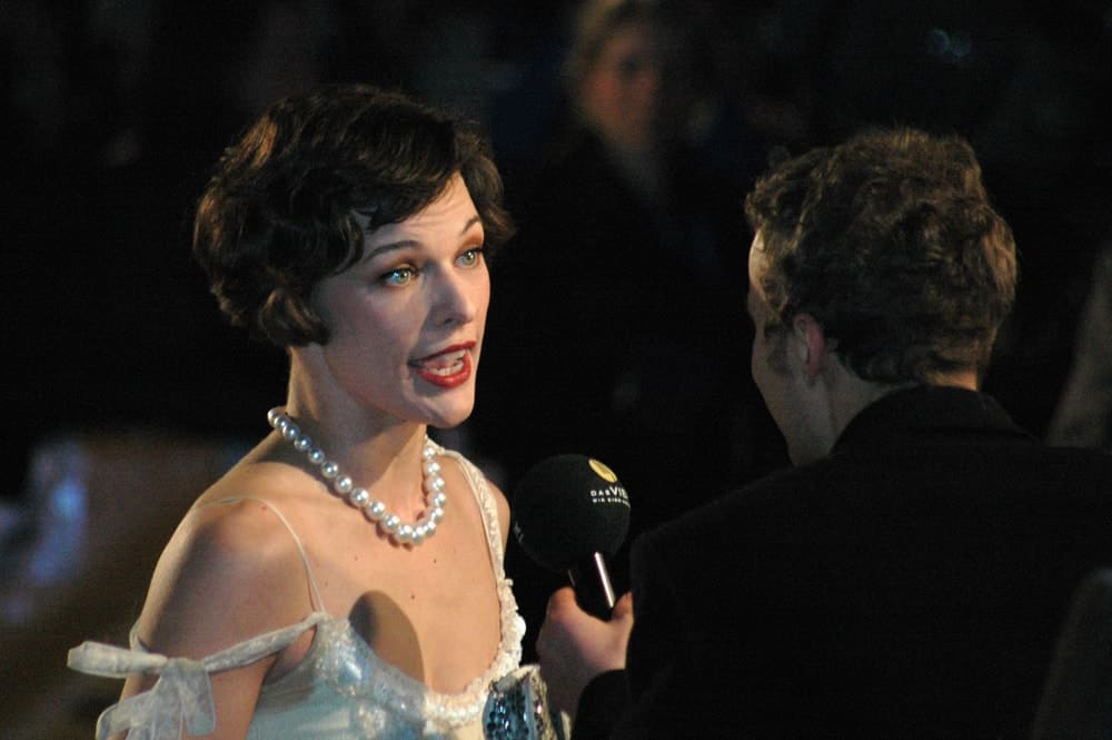 on February 13, 2006, Milla Jovovich was at the