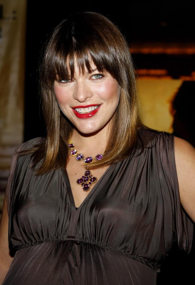 Milla Jovovich attended the World Premiere of