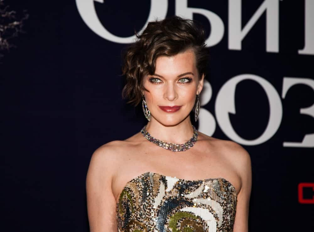 Milla Jovovich attended the Premiere of the movie