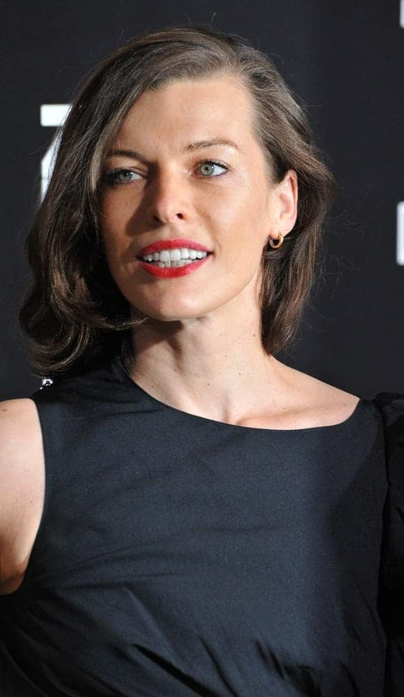 Milla Jovovich was at the premiere of