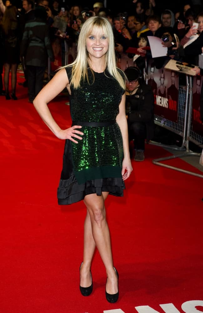 On January 30, 2012, Reese Witherspoon was at the UK Premiere of