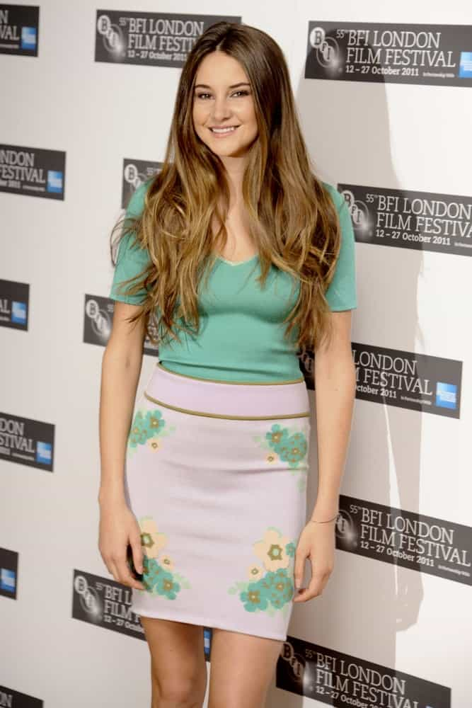 Shailene Woodley was at the photocall for