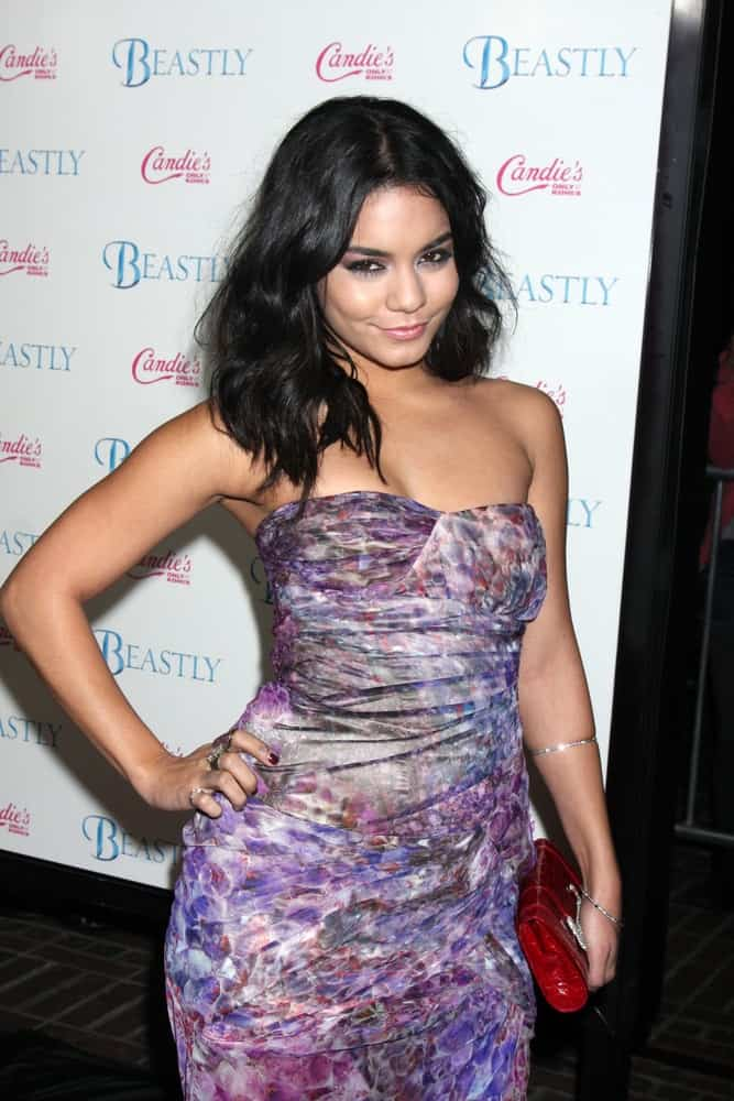 Actress Vanessa Hudgens arrived at the
