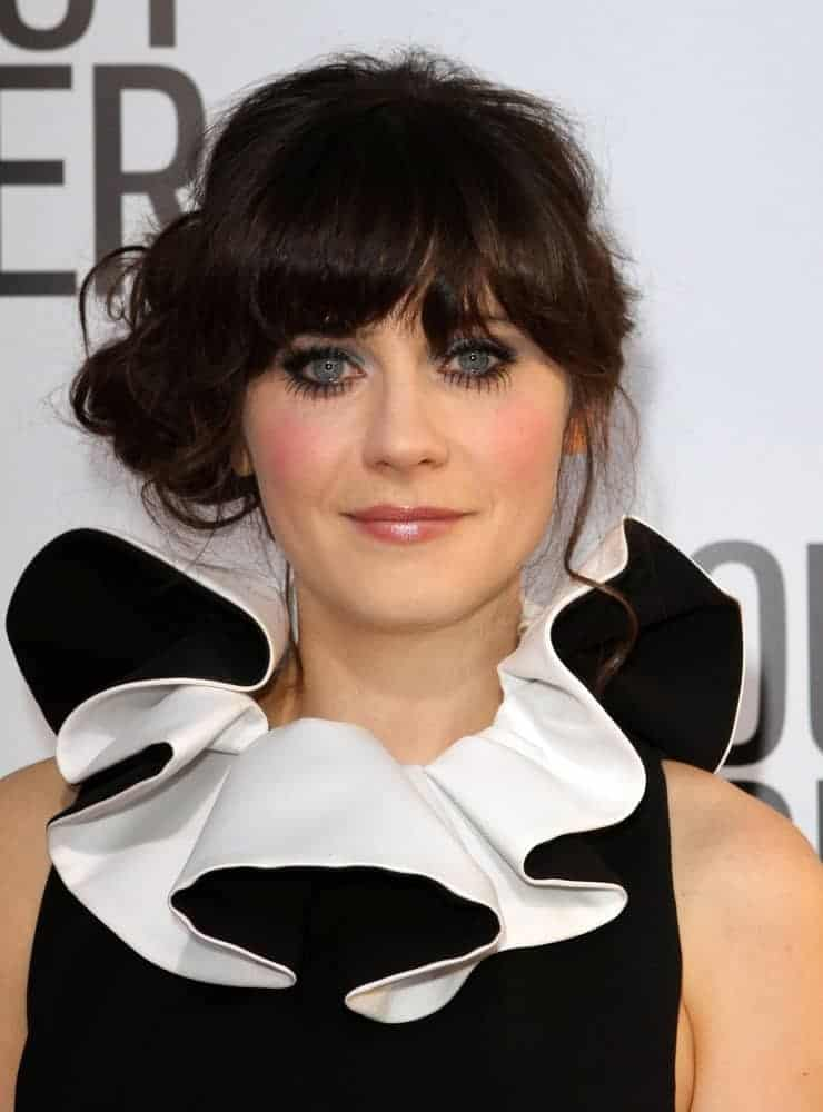 On August 16, 2011, Zooey Deschanel attended the