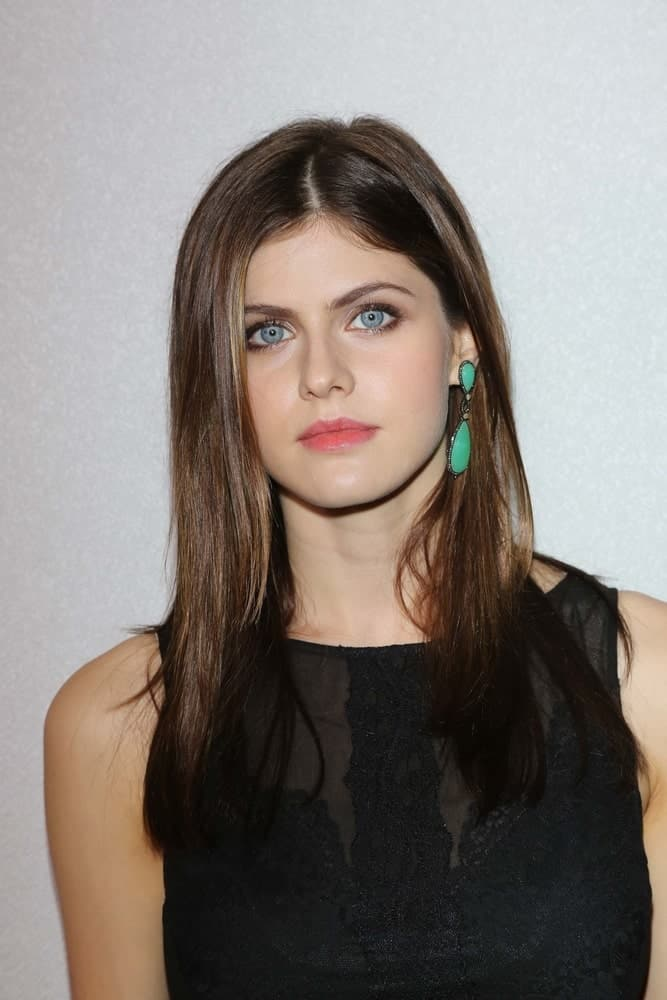 Alexandra Daddario at the 12th Annual InStyle Summer Soiree, Mondrian, West Hollywood, CA on Aug. 14, 2013.