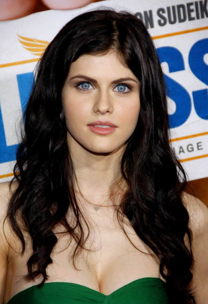 Alexandra Daddario at the Los Angeles premiere of 'Hall Pass' held at the ArcLight Cinemas in Hollywood on February 23, 2011.