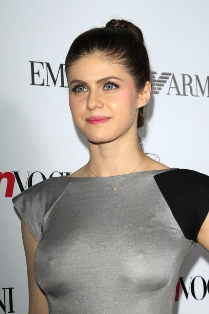 Alexandra Daddario at the Teen Vogue's 10th Annual Young Hollywood Party at Private Location on September 27, 2012, in Beverly Hills, CA.