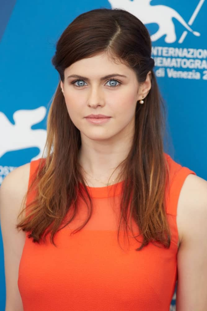 Alexandra Daddario at ''Burying The Ex' photocall during the 71st Venice Film Festival on September 4, 2014 in Venice..
