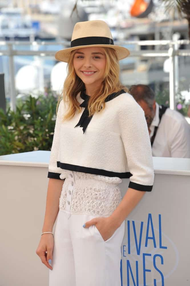 On May 23, 2014, Chloe Grace Moretz was at the photocall for her movie