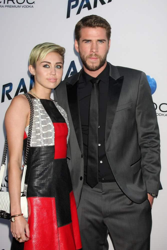 Miley Cyrus and Liam Hemsworth were at the