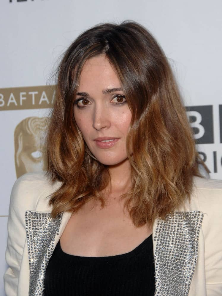 Rose Byrne was in attendance for BAFTA LA 7th annual TV Tea Party at the InterContinental Hotel, Century City, CA on September 19, 2009. She wore a beige jacket over her smart casual outfit and paired it with a shoulder-length brunette bob hairstyle with highlights.